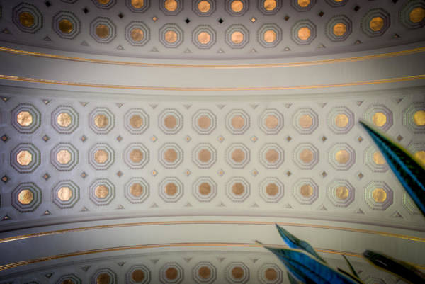Photograph - Union Station Ceiling Of Gold by Mark Dodd