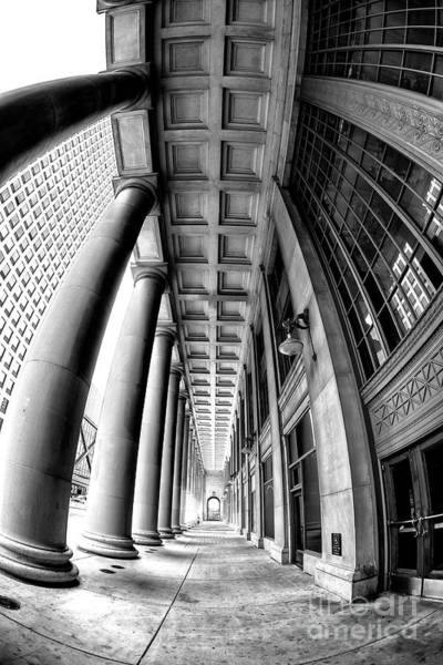 Photograph - Union Station Curves by John Rizzuto