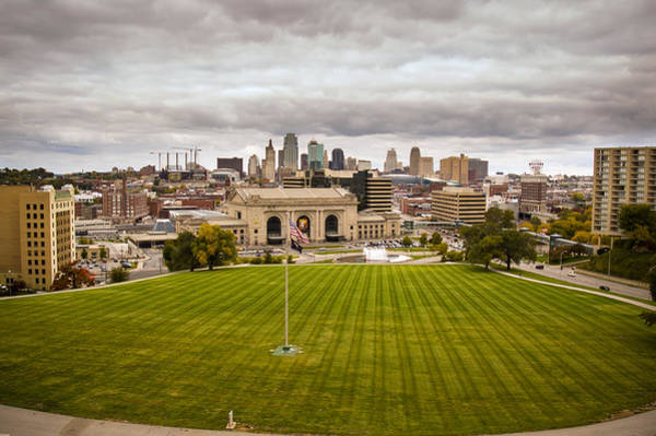 Photograph - Union Station From War Memorial by Jeff Phillippi