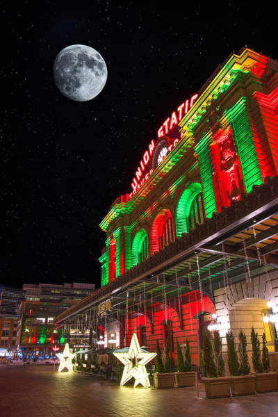 Photograph - Union Station Nights by Darren White