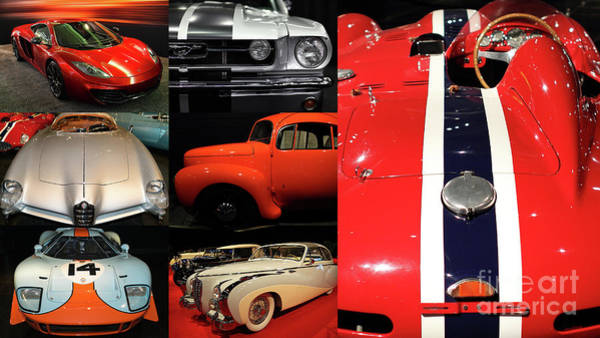 Photograph - Unique And Eclectic Automotive Classic Car Collection 20170506 by Wingsdomain Art and Photography