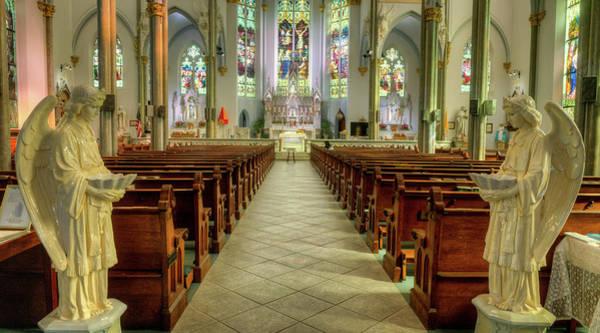 Asps Photograph - Unitarian Church Charleston South Carolina Sancuary by Douglas Barnett