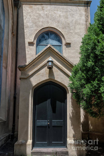 Photograph - Unitarian Church Door by Dale Powell