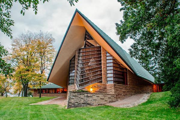 Photograph - Unitarian Meeting House by Todd Klassy