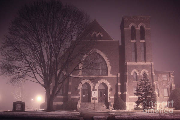 Photograph - United Church Of Beloit  by Viviana Nadowski
