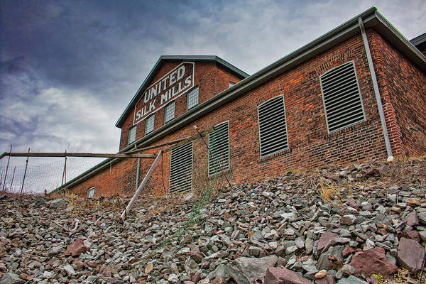 Photograph - United Silk Mills - Scranton by Kristia Adams