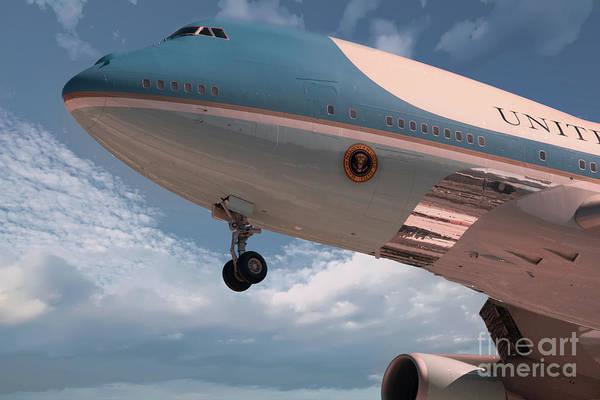 Photograph - United States Air Force One by Dale Powell