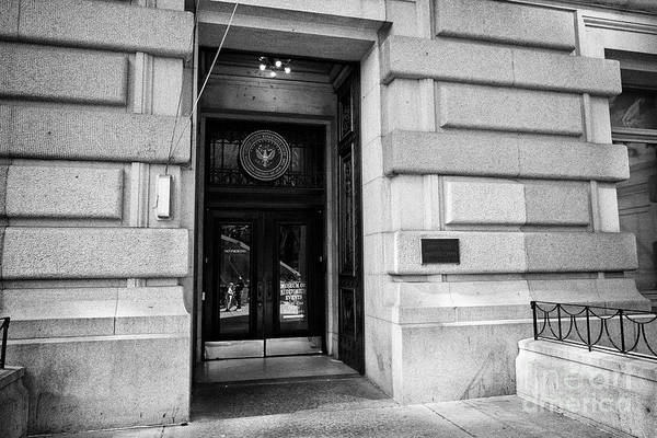 Wall Art - Photograph - united states bankruptcy court for the southern district of New York USA by Joe Fox