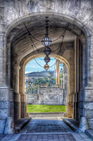 Photograph - United States Capitol - Archway by Marianna Mills