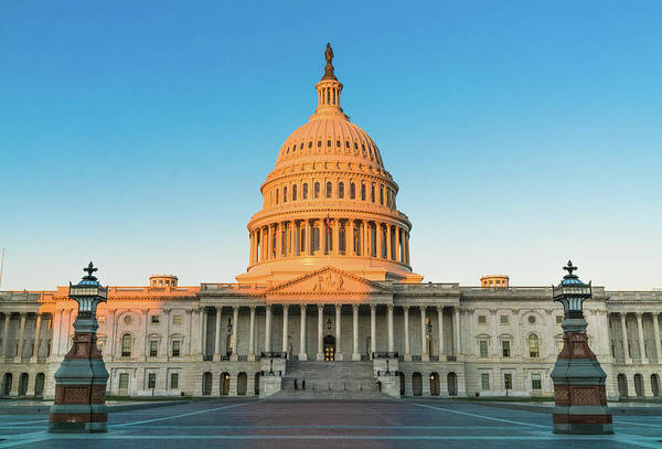 District Wall Art - Photograph - United States Capitol  by Larry Marshall