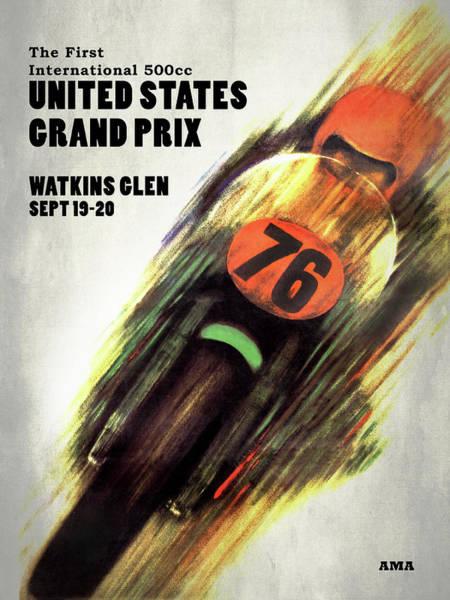 Wall Art - Photograph - United States Grand Prix by Mark Rogan