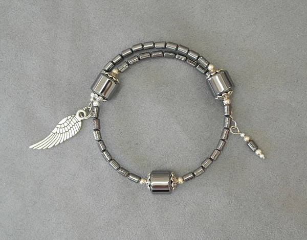Jewelry - Unity In Trinity Tm Gratitude Bracelet Of Hematite by Michele Myers