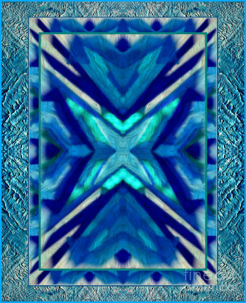Mixed Media - Simply The Blues by Wbk