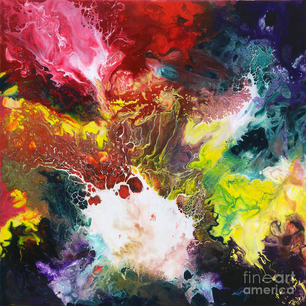 Painting - Universal Forces Canvas One by Sally Trace