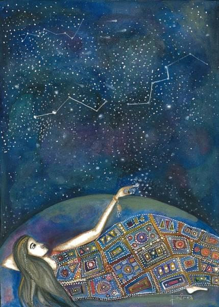 Mixed Media - Universal Magic by Prerna Poojara