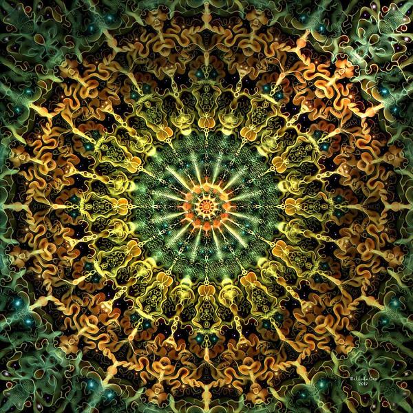 Digital Art - Universal Soul Fire by Artful Oasis
