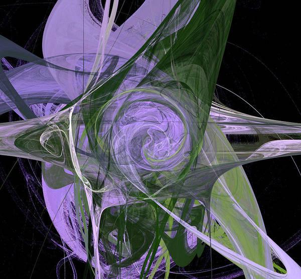 Digital Art - Universe Flower by Marina Usmanskaya