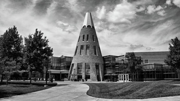 Photograph - University Center B W by Sandy Keeton