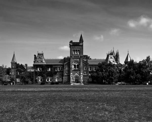 Photograph - University College Main Building Toronto Canada by Brian Carson