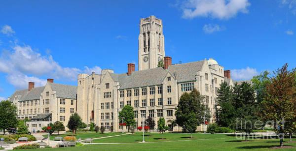 Mac Photograph - University Hall University Of Toledo  6215 by Jack Schultz