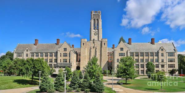 Mac Photograph - University Hall University Of Toledo  6224 by Jack Schultz