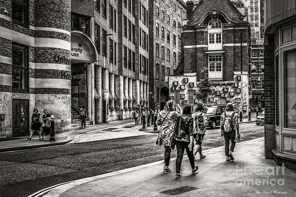 Photograph - University House, London. by Nigel Dudson