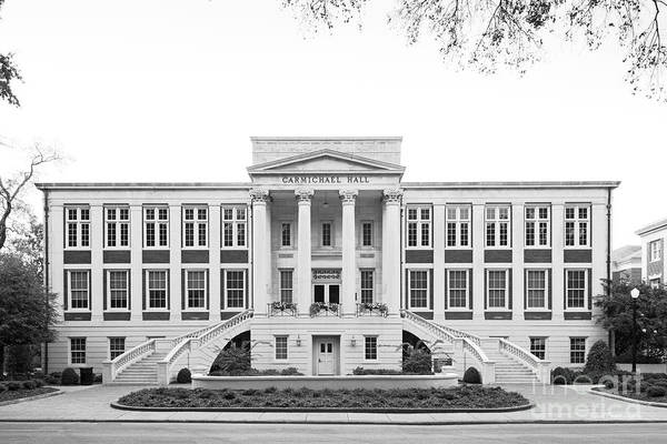 Photograph - University Of Alabama Carmichael Hall by University Icons