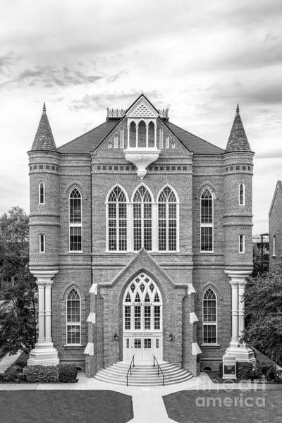Photograph - University Of Alabama Clark Hall by University Icons