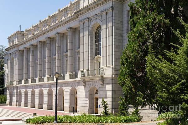 Photograph - University Of California Berkeley Historic Ide Wheeler Hall Dsc4056 by Wingsdomain Art and Photography