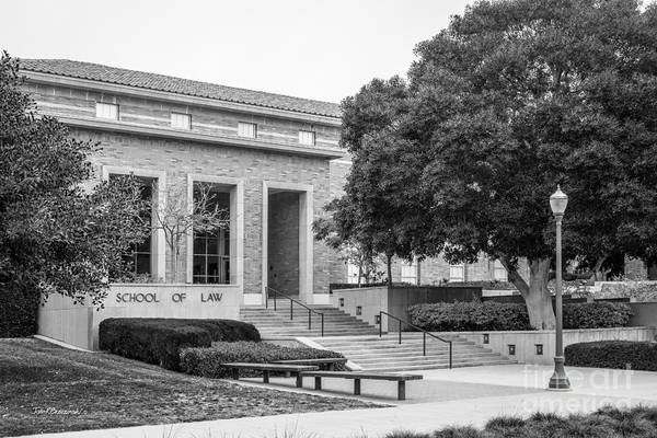 Photograph - University Of California Los Angeles School Of Law by University Icons