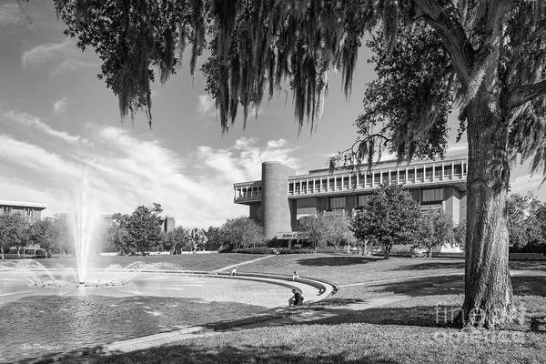 Photograph - University Of Central Florida John Hitt Library by University Icons
