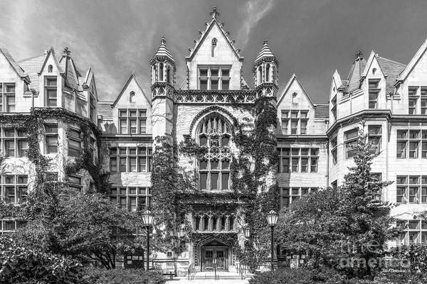 Photograph - University Of Chicago Cobb Hall by University Icons