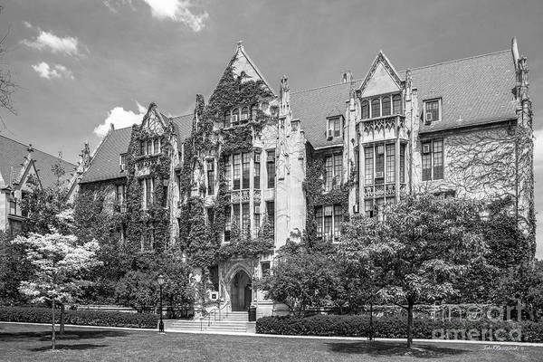 Photograph - University Of Chicago Eckhart Hall by University Icons