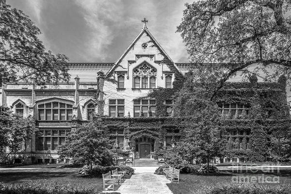 Photograph - University Of Chicago Haskell Hall by University Icons