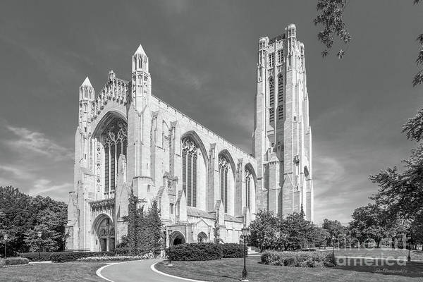 Photograph - University Of Chicago Rockefeller Chapel by University Icons