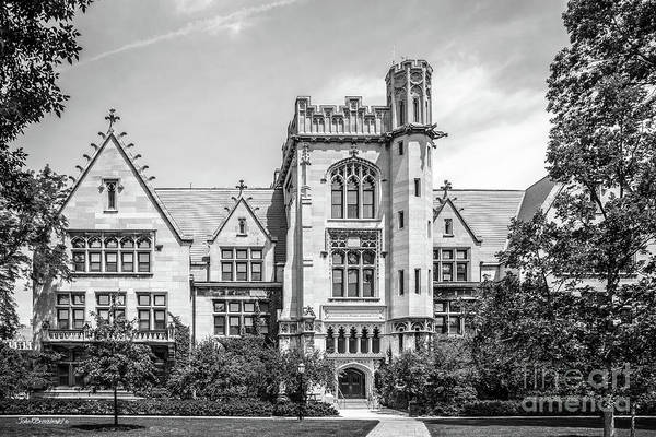 Photograph - University Of Chicago Ryerson Hall by University Icons