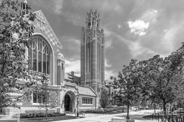 Photograph - University Of Chicago Saieh Hall For Economics by University Icons