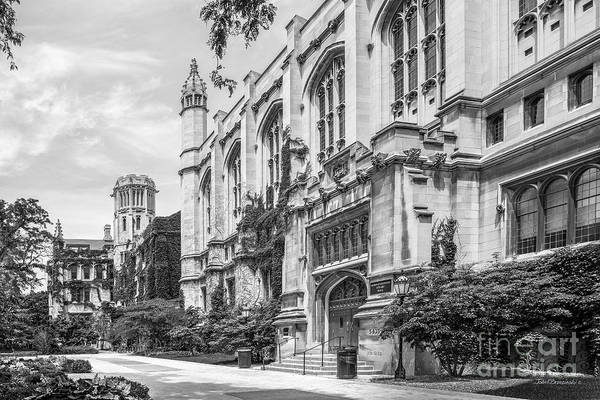 Collegiate Wall Art - Photograph - University Of Chicago Stuart Hall by University Icons