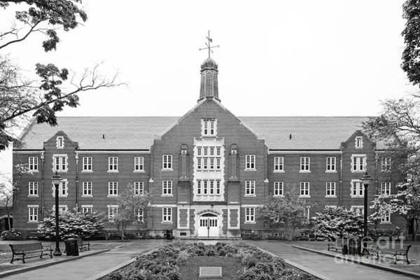 Photograph - University Of Connecticut Whitney Hall by University Icons