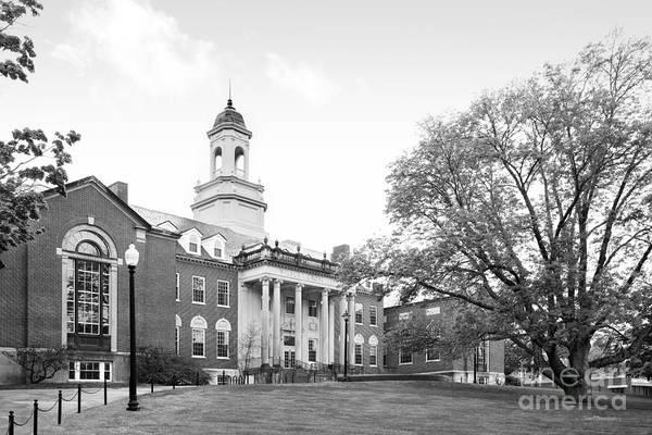 Photograph - University Of Connecticut Wilbur Cross Building by University Icons