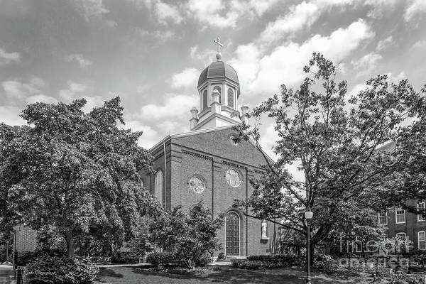 University Of Dayton Chapel Art Print