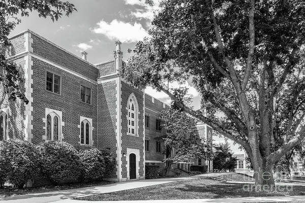 Photograph - University Of Dubuque Van Vliet Hall by University Icons