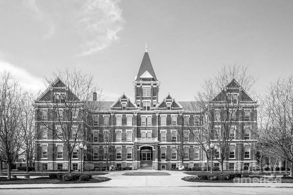 Photograph - University Of Findlay Old Main by University Icons