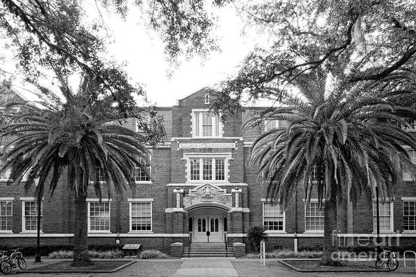 Photograph - University Of Florida Griffin- Floyd Hall by University Icons