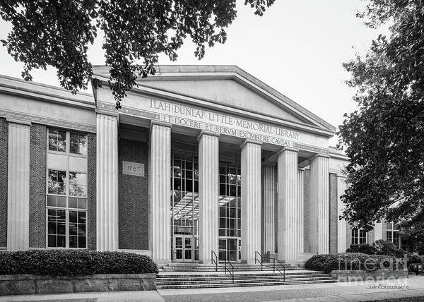 Photograph - University Of Georgia Ilah Dunlap Little Library by University Icons