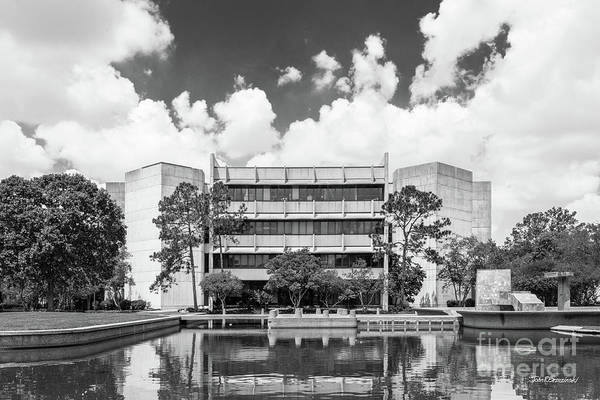 Photograph - University Of Houston College Of Education by University Icons