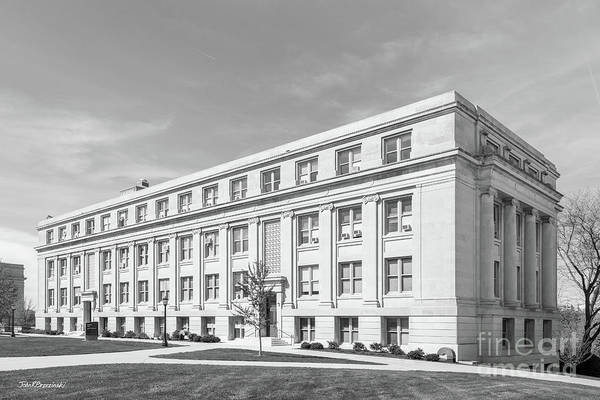 Photograph - University Of Iowa Jessup Hall by University Icons