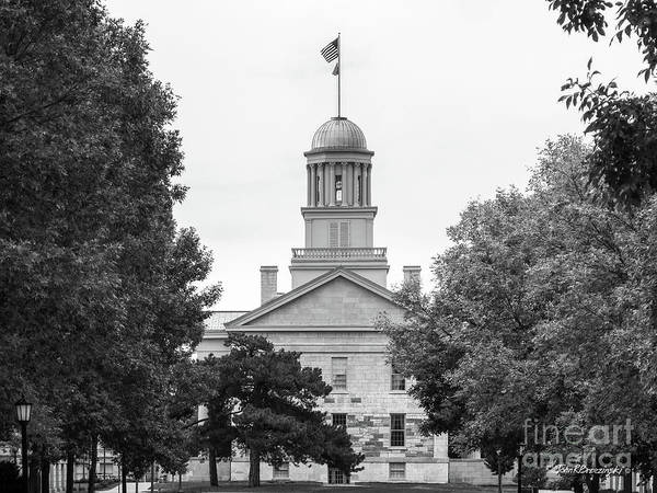 University Of Iowa Old Capital Art Print