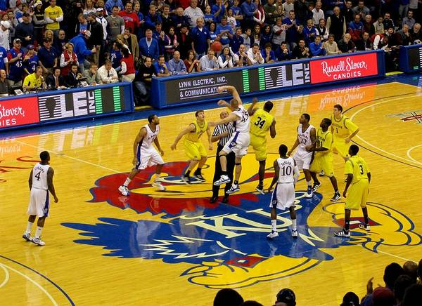 Photograph - University Of Kansas Cole Aldrich by Keith Stokes
