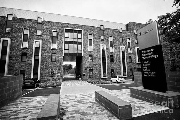 Wall Art - Photograph - University Of Liverpool Greenbank Student Village Liverpool Merseyside Uk by Joe Fox